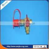 CNG LPG single point pressure reducer filling valve kit