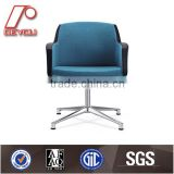 Fabric Lift Swivel Chairs without Wheels DU-410MT