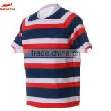 Wholesale rugby breathable quick dry polyester fabric rugby jersey 3d sublimation printing breathable custom football jersey