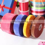"custom printed grosgrain ribbon . 3/8""(9mm) Brand Solid Color Grosgrain Ribbon And Gift Ribbons For Crafts Packing Tape 100yard/"