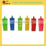 Wholesale Cheap Plastic Whistle For Promotion