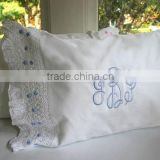 Custom Made Personalized Patterns Naturally Soft Cotton Hypoallergenic Baby Pillow Case Cover