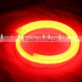 Commercial & Architectural Red LED Neon Rope Light With Color Jacket