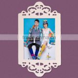 handmade wooden plastic photo frame ,chinese factory lowest price