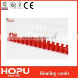 Hot sale plastic comb binding for comb binding/binding ring easy binding