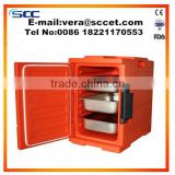 Room Service Meal Delivery Cart keep warm food cabinet test by FDA,SGS,ISO,CE