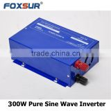 Off grid High quality 48V DC to 110V AC Rated car power 300w pure sine wave inverter for mobile vehicle supply temporary