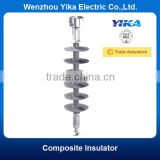 Wenzhou Yika IEC 20KV Composite Insulator Ball and Socket End Fitting Long Rod Suspension Insulator