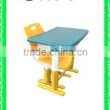 modern school desk and chair school furniture school desk with bench HXZY053