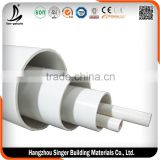 Low price 5 inch pvc water pipe prices, high quality large diameter plastic pipe                                                                         Quality Choice