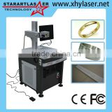 Hot 3rd Generation Aluminum Oxide Workbench Laser Marker Fiber Laser Marking Machine in Stock