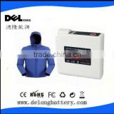 7.4V 4400mAh Heated Motocycle Jackets Battery pack with long duration time & temperature control