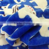 cheap wholesale custom printed flannel fleece fabric