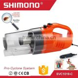 Shimono 2016 Newest handheld bagless cyclone car vacuum cleaner auto vacuum cleaner