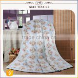 Made in China factory wholesale king queen full twin size 100% cotton fabric home textile printed quilt