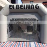 Gray inflatable paint booth, inflatable spray booth for sale