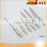 2015 Latest Gift Made In China kitchen stainless steel knife set