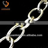 Wholesale fashion 6mm aluminum belt chains