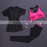 new design sets New arrival wholesale yoga apparel bra sports leggings custom yoga headband