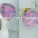 Colorful knitted hats for fashion life