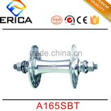 OEM Novatec Bike Front Hubs 20h Sliver Road Bicycle CRMO Alloy Track Hub With 2 Sealed Bearings