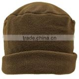 Brown 3 Piece Polar Fleece Hat Scarf & Glove Matching Set