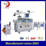Damping aluminum / copper foil tape die cutting machine