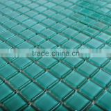 Green Growing in the dark Bath Wall and Floor Crystal Glass Mosaic Tile