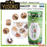 New Products 2016 Royal herbal YUSOKO Tea Bag Tussive Tablets Food Supplement Dietary Supplements cough syrup