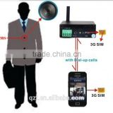 Wireless HD Motion Detection Video Hidden Cam 3G Button Spy Camera with Recharge Battery