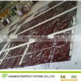 Turkey red marble Rossa Levanto marble tile for hotel flooring tile
