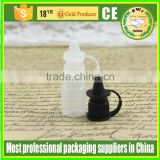 3ml plastic pe dropper bottle with needle cap for e liquid,e cigarette,e juice