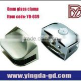Zinc alloy cabinet glass clip frame for furniture