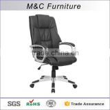 Comfortable Executive Chair Height Adjust PU Office Chair Senior PU Swivel Chair For Office Liftable