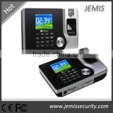 Ethernet 2.4'' colorful screen web biometric fingerprint time attendance device