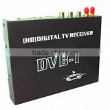 High-speed Moving TV Receiver M-688 Double Antenna Car Digital DVB-T MPEG-4 H.264 HD Tuner Digital TV Receiver