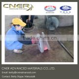 Cast basalt lined steel pipe, cast basalt lined pipe, SHS ceramic steel pipe