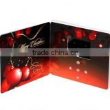 Wholesale 2.4/ 3.5/ 4.3/ 5/ 7 inch lcd wedding greeting brochure video greeting card for Gifts