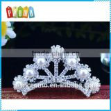 Promotional Mini Pearls Tiara for event