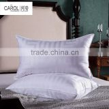 China supplier wholesale 100% cotton luxury star hotel pillow