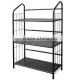 Supermarket Storage Steel Shelf / Warehouse Metal Rack shelving System / Electronic Equipment Rack