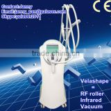 2012 the most professional 3 mechanical vacuum rollers---velashape slimming machine for sale