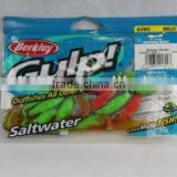 100% natural Berkley Gulp saltwater nuclear chicken swimming mullet fishing lure