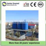 landfill sewage treatment plant design and manufacture glass lined to steel tank for storage, high quality