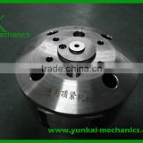 Stainless steel cnc turning parts for casting machine, blind flange and reducing flange