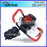 powerful 43cc 52cc 56cc 71cc auger for earth drilling