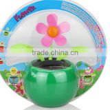 Solar dancing flower; Solar energy; mini solar flower; Car decorations;small;Novelty dancing toys; Manufacture wholesale