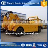 lowest price china factory diesel 190HP 8 ton brand new wrecker tow trucks for sale