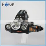 Waterproof Rechargeable 18650 XML T6 1000 Lumens 3 Modes Outdoor LED Flashlight Fishing Headlamp