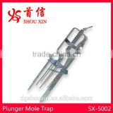 Metal Plunger Mole & Gopher Trap SX-5002